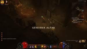 Diablo 3 - Komplettlösung : Hier haben wir gerade ein Kultisten-Ritual unterbrochen.