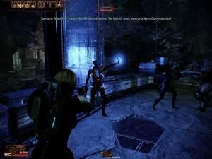 Mass Effect 2 : Für das biotische Feld sollten Sie dringend auch eine reine Biotik-Spezialistin abstellen.