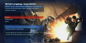 Mass Effect 3 : Die Kampagne von Mass Effect 3 lässt sich in drei verschiedenen Variationen Spielen.