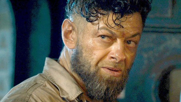 Andy Serkis als Ulysses Klaw aus Avengers: Age of Ultron.