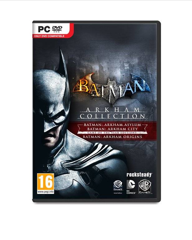 Der Packshot von der Batman: Arkham Collection