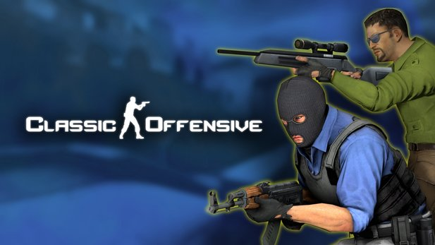 Counter-Strike: Classic Offensive wurde via Steam Greenlight freigegeben.