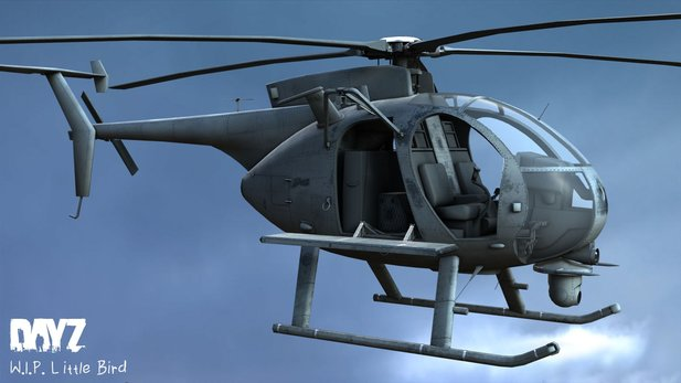 DayZ - Gameply-Video zeigt Little-Bird-Hubschrauber in Aktion
