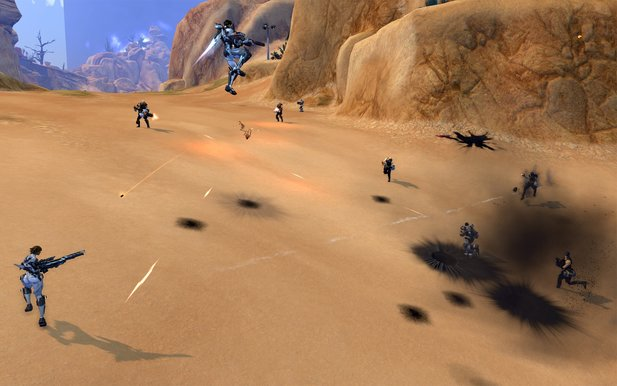 Am 16. September 2014 soll das Content-Update »Elemental Destruction« für den Free2Play-Online-Shooter Firefall erscheinen.