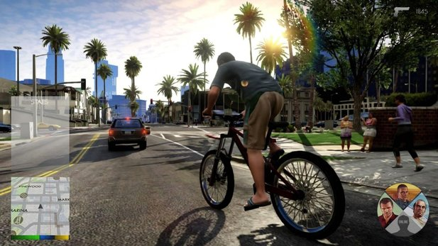 Grand Theft Auto 5 - Mockup des neuen HUD-Interfaces