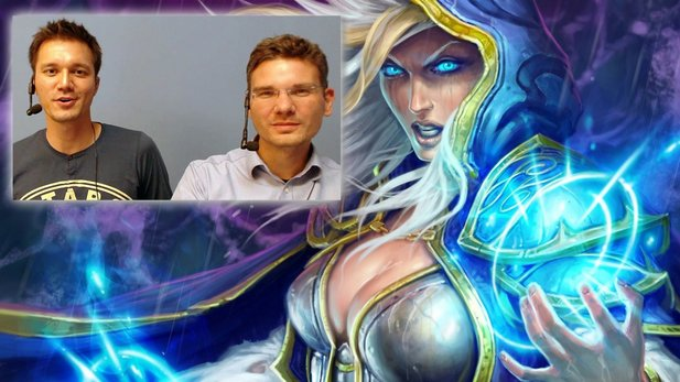 Hearthstone: Heroes of Warcraft - Martin und Rene spielen Blizzards Sammelkartenspiel in der Beta