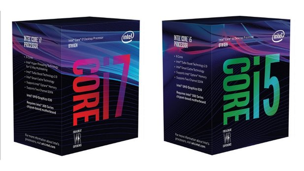 Intel bringt achte Core-Desktop-Generation