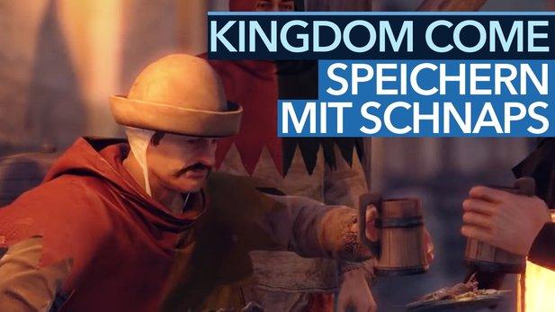 Kingdom Come: Deliverance - Video: So funktioniert der Speicher-Schnaps
