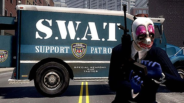 Test-Video von Payday: The Heist