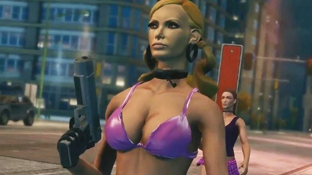 Der Inhalt von Enter the Dominatrix soll komplett in Saints Row 4 unterkommen.
