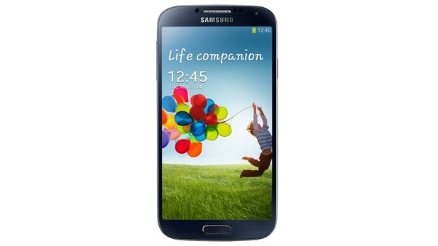 Samsung Galaxy S4 in schwarz