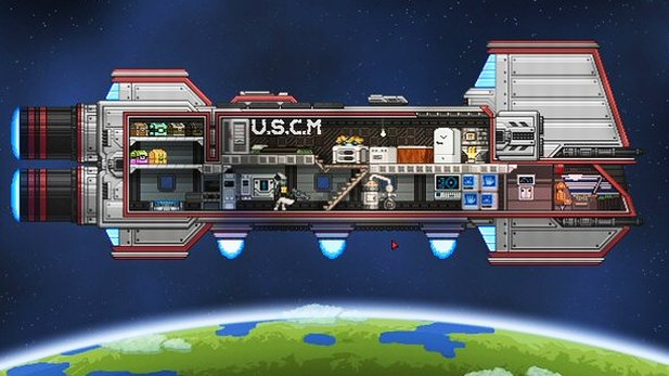 Starbound - Preview-Video zum Weltraum-Sandbox-Spiel