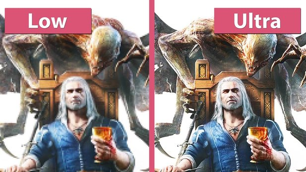 The Witcher 3: Blood and Wine - Alle Detailstufen im Grafik-Vergleich