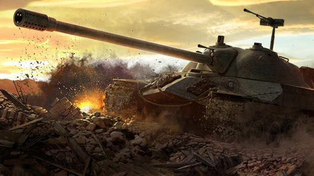 World of Tanks - Test-Video