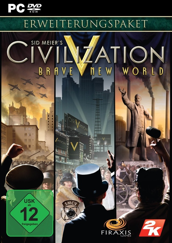 Cover zu Civilization 5: Brave New World