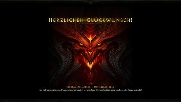 Diablo 3 - Komplettlösung : Welt gerettet-Ende