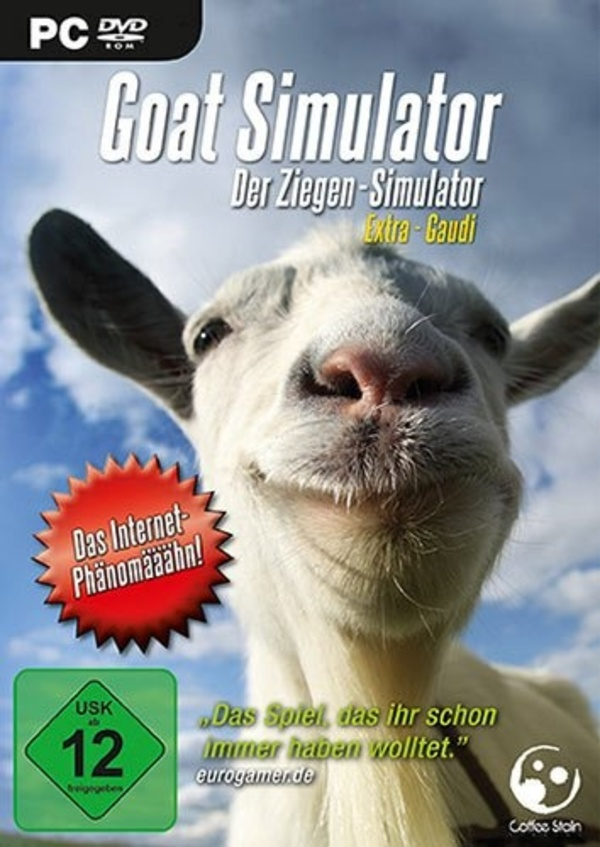 Cover zu Goat Simulator