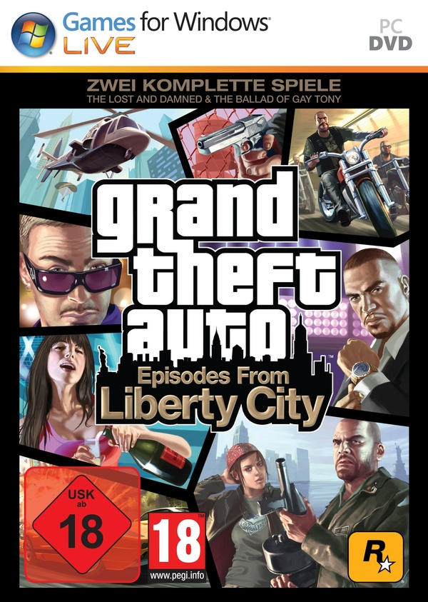 Cover zu Grand Theft Auto 4: Episodes from Liberty City