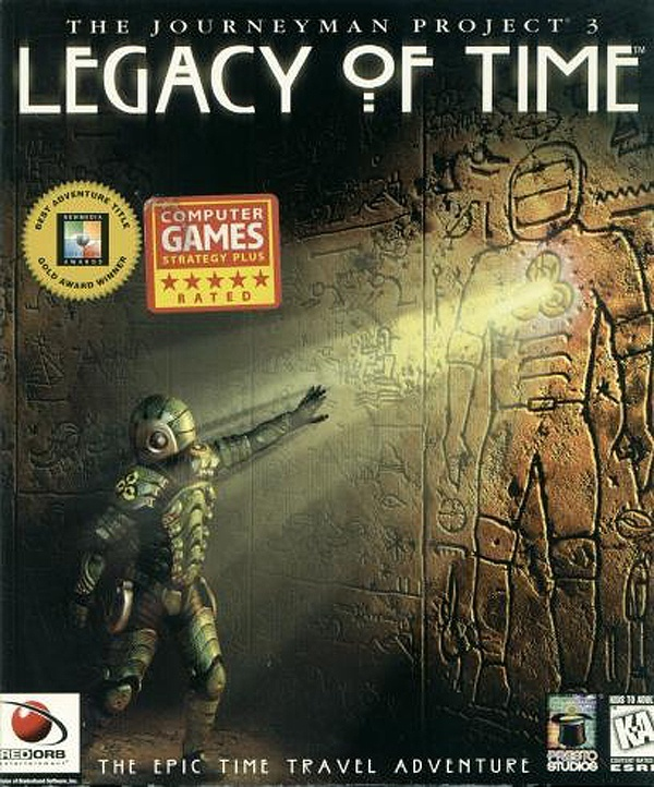 Cover zu Journeyman Project 3: Legacy of Time