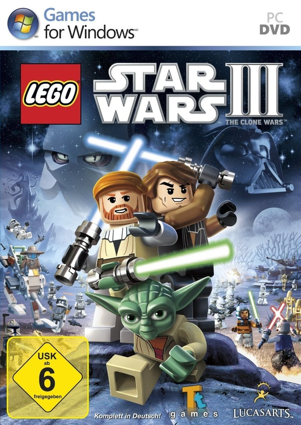 Cover zu Lego Star Wars 3: The Clone Wars