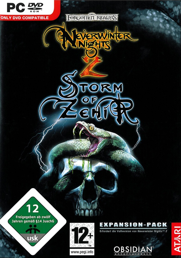 Cover zu Neverwinter Nights 2: Storm of Zehir