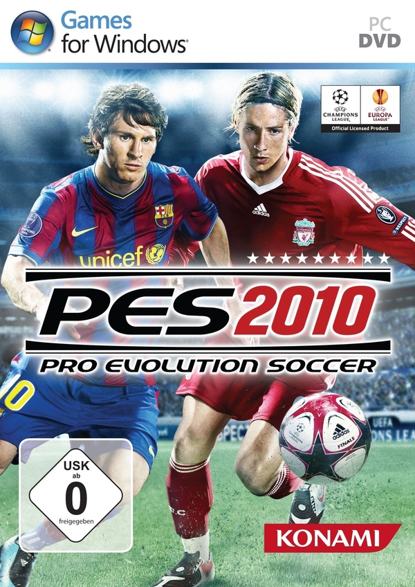 Cover zu Pro Evolution Soccer 2010