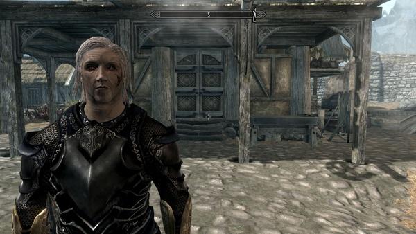 Vampirismus in Skyrim : Mit fortgeschrittenem Vampirstadium ändert sich auch das Aussehen unseres Charakters. Die Augen!