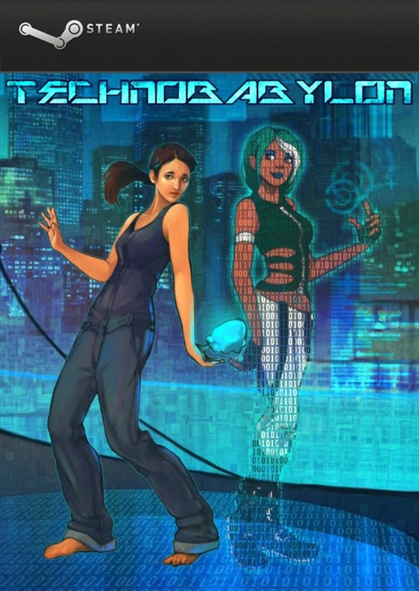 Cover zu Technobabylon