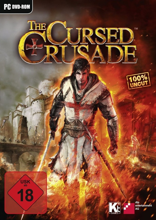 Cover zu The Cursed Crusade