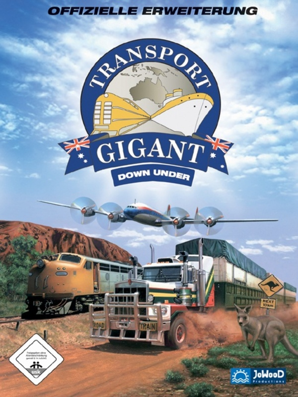 Cover zu Transport Gigant: Down Under