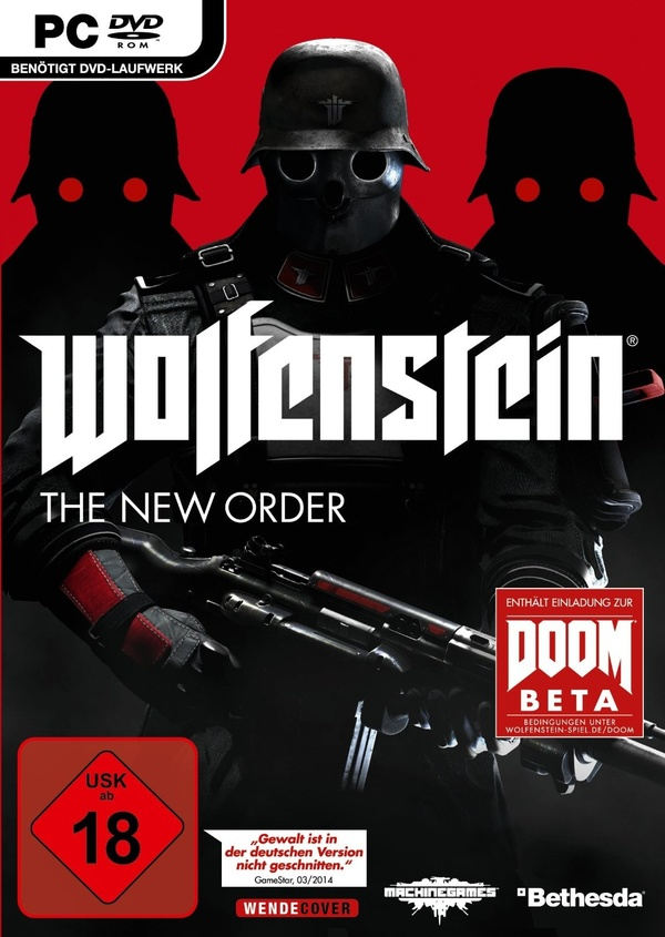 Cover zu Wolfenstein: The New Order