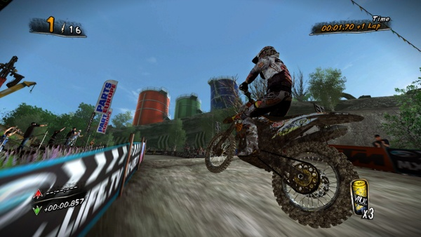 Screenshot zu MUD: FIM Motocross World Championship - Screenshots