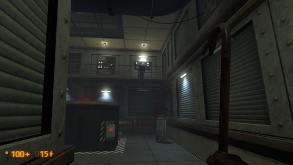 Screenshot zu Black Mesa gegen Half-Life - Vergleichsbilder: Remake gegen Original