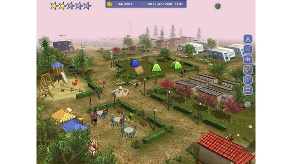 Screenshot zu Camping-Manager 2012 - Screenshots