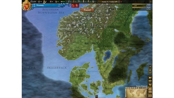 Screenshot zu Europa Universalis 3 - Bilder zum Addon Divine Wind