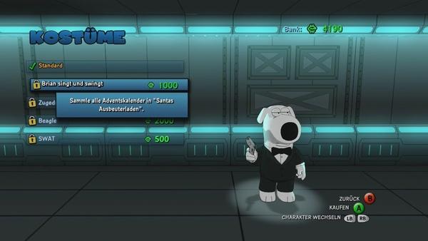 Screenshot zu Family Guy: Back to the Multiverse - Screenshots