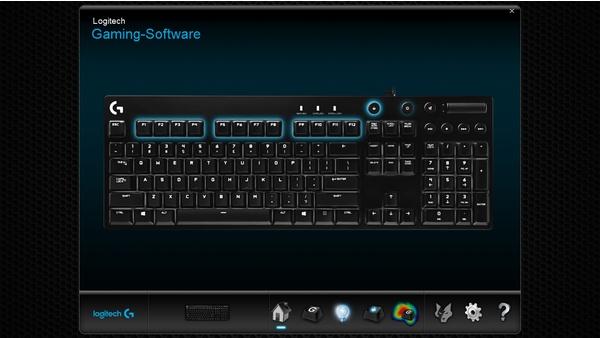 Bilder zu Logitech G610 Orion - Software