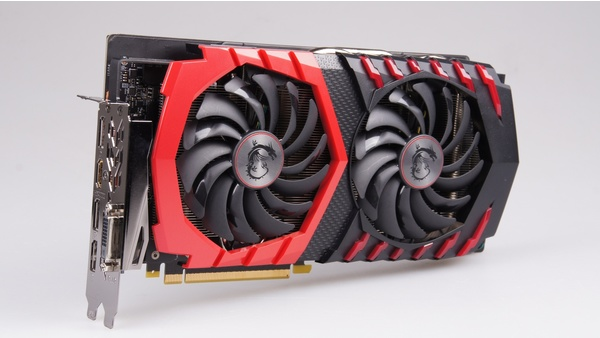 Bilder zu MSI Geforce GTX 1060 Gaming X 6G - Bilder