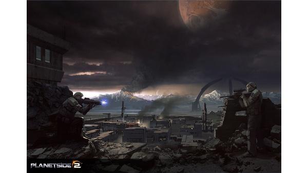 Screenshot zu PlanetSide 2 - Artworks und Konzeptzeichnungen