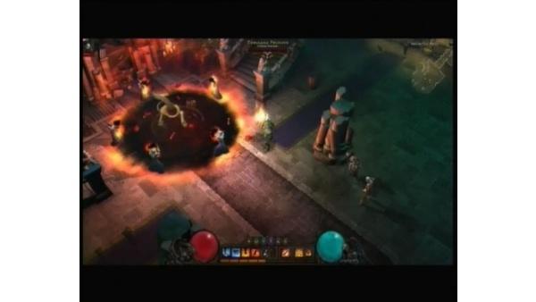 Screenshot zu Blizzard WWI 2008 - Eröffnungsfeier mit Diablo 3