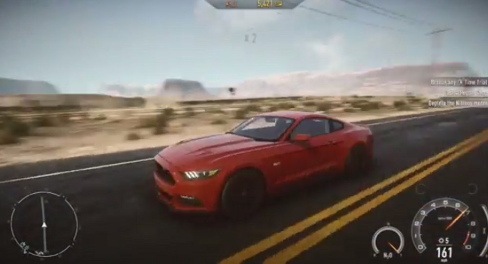 need for speed rivals kostenloser dlc mit ford mustang ver ffentlicht neues video gamestar. Black Bedroom Furniture Sets. Home Design Ideas