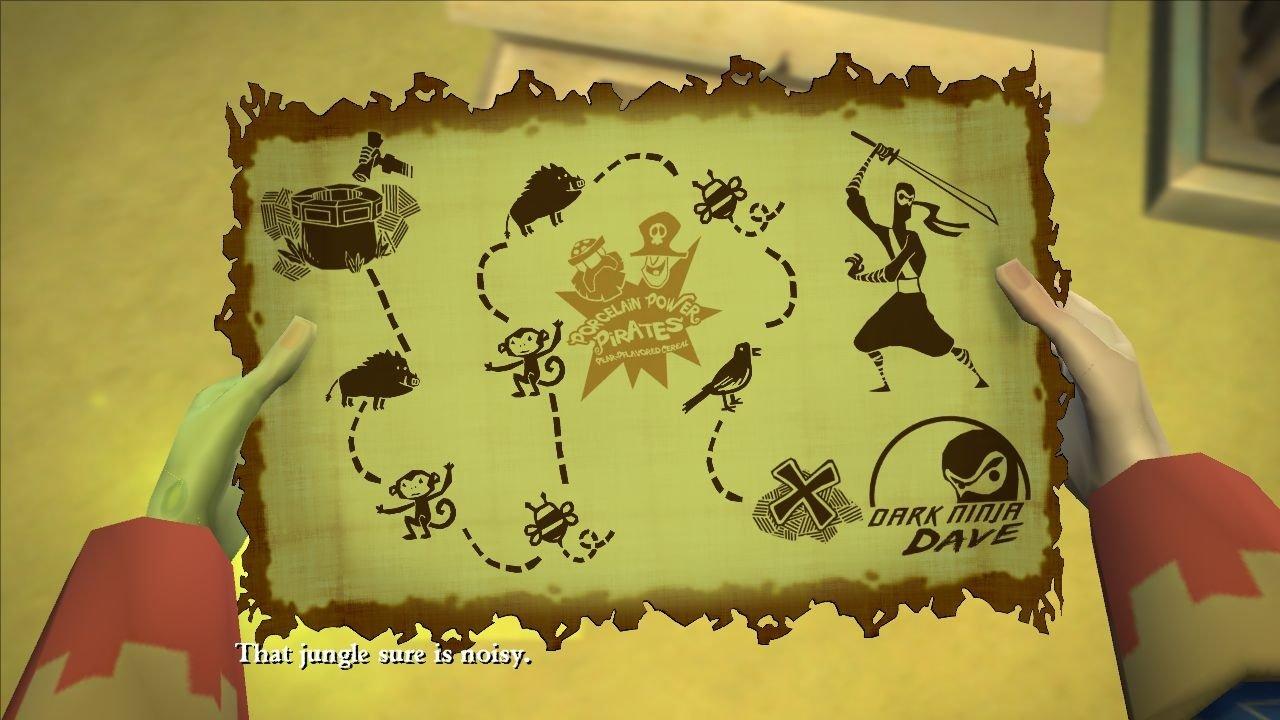 Monkey Island Schatzkarte