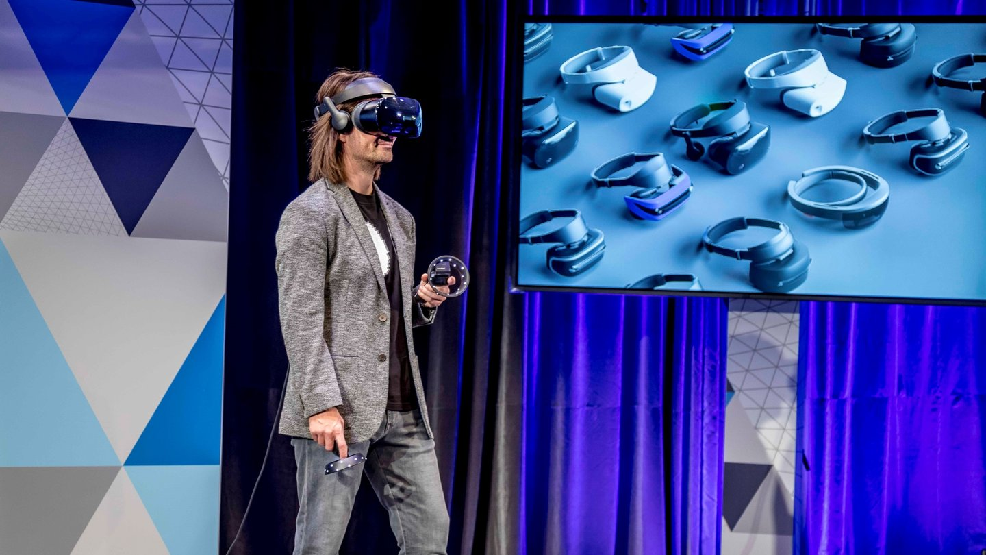 Windows 10: Samsungs VR-Headset ist ein Oculus-Konkurrent