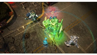 <b>Infinite Crisis</b><br/>Screenshot zeigt Arcane Green Lantern