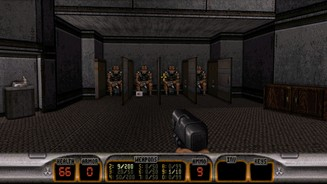 Duke Nukem 3D World Tour - Screenshots der Bonus-Kampange »Alien World Order« - Level: Prima Arena