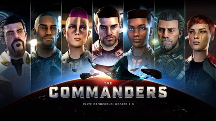 Elite: Dangerous - The Commanders - Patch 2.3 bringt Charaktereditor, Multicrew und »mysteriöse Dinge«