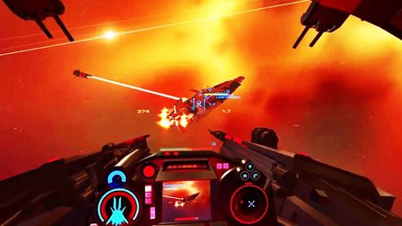 Enemy Starfighter - Gameplay-Trailer zeigt Weltraum-Schlachten