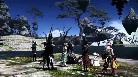 Final Fantasy 14: Heavensward - Trailer mit Tour durch die Nordgebiete