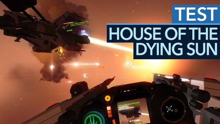 House of the Dying Sun - Testvideo zum Weltraum-Dogfight-Spektakel