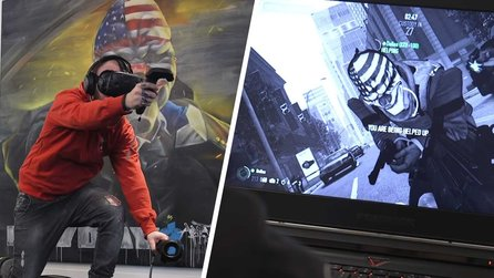 Payday 2 VR - Gameplay-Trailer zum Virtual-Reality-Feature des Koop-Shooters
